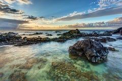 Ho Okipa Sunset Stock Images