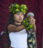 Ho'olaule'a Pacific Islands Festival Stock Photo