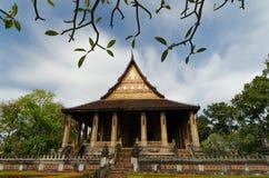 Ho Phra Kaew - Vientiane Laos Immagini Stock