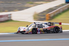 Ho-Pin Tung of DC Racing in Asian Le Mans Series - Race at 2016 Royalty Free Stock Photography