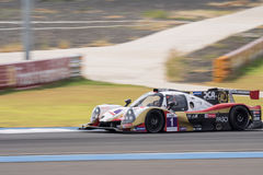Ho-Pin Tung of DC Racing in Asian Le Mans Series - Race at 2016 Royalty Free Stock Images