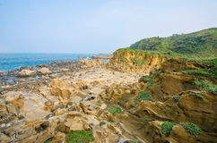 Ho Ping Island Hi Park in Keelung,Taiwan Stock Photography