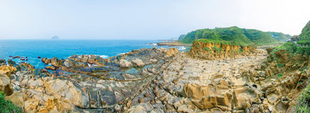 Ho Ping Island Hi Park in Keelung,Taiwan Royalty Free Stock Photography