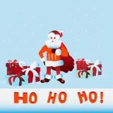 Ho Santa Claus Stock Afbeeldingen