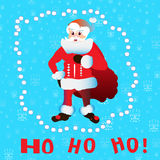 Ho Santa Claus Stock Afbeelding