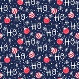 Ho Ho Ho Seamless Christmas Pattern libre illustration