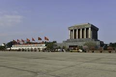 Ho Shi Min mausoleum in Hanoi city. Viednam Stock Image