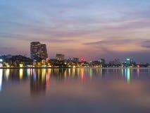 Ho Tay湖13/ 免版税图库摄影