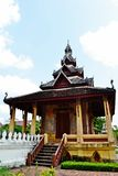 Ho Trai或图书馆建筑 免版税库存照片
