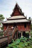 Ho Trai Klang Nam en Wat Thung Si Muang 2 Foto de archivo libre de regalías
