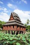 Ho Trai Klang Nam en Wat Thung Si Muang Imágenes de archivo libres de regalías