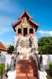 Ho Trai library at Wat Phra Singh, Chiang Mai, Thailand Royalty Free Stock Images