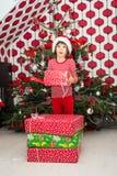 HO HO HO! Vrolijke Kerstmis! Stock Afbeeldingen