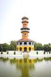 Ho Withun Thasana på det Ayutthaya landskapet Fotografering för Bildbyråer