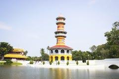 Ho Withun Thasana på det Ayutthaya landskapet Royaltyfria Foton