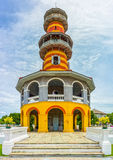 Ho Withun Thasana or Withun Thasana Hall, one of famous landmark for travel in Ayutthaya city Royalty Free Stock Photos