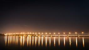 Hoa un pont, ville de Bien Hoa, Vietnam Photos stock