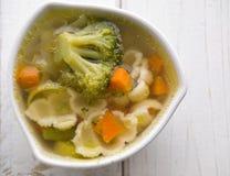 Hoad grönsaksoup Arkivfoto