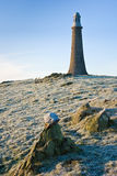 Hoad Monument. In Ulverston on a frosty morning Stock Image