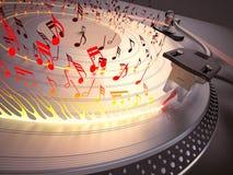 Hoad musik Arkivfoto