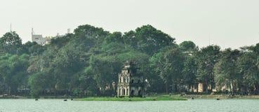 Hoan Kiem jezioro Obrazy Royalty Free
