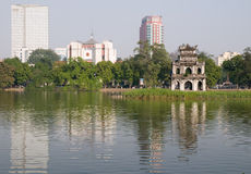 Hoan Kiem Lake, Hanoi, Vietnam Stock Photo