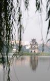 Hoan Kiem lake, Hanoi Royalty Free Stock Photos