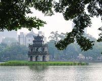 Hoan Kiem lake, Hanoi Royalty Free Stock Image