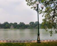 Hoan Kiem lake, Hanoi Stock Image