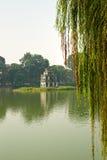 hoan kiem vietnam för hanoi ho Royaltyfri Fotografi