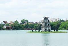 hoan kiem vietnam för hanoi ho Royaltyfri Bild