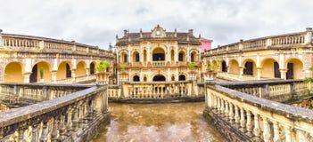 Hoang een Koninklijke Architectuur van Tuong keizer, Bac Ha, Lao Cai, Vietnam Stock Fotografie