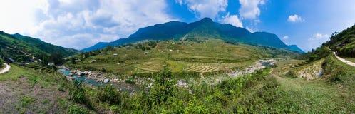 Hoang Lien Mountain Range Stock Images