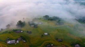 Hoang Su发埃-河江市 库存图片