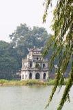 Hoankiem jezioro w Hanoi, Wietnam Fotografia Stock