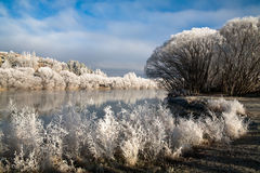 Hoar frost Stock Photo
