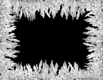 hoarfrost рамки Стоковые Фотографии RF
