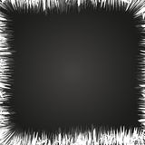 Hoarfrost as frame Stock Image