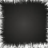Hoarfrost jak ramę Obraz Stock