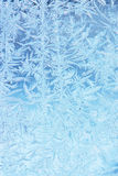 Hoarfrost texture Stock Images