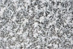 Hoarfrost texture Royalty Free Stock Image