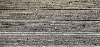 Hoarfrost on wooden floorboards Stock Image