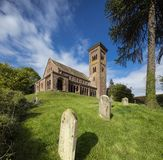 Hoarwithy, Herefordshire, R-U, mai 2019, l'?glise de St Catherine dans Hoarwithy images stock