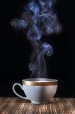 Hoat ånga kaffe arkivbilder