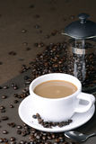 Hoat kaffe Arkivfoton