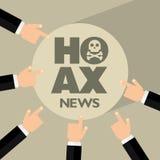 hoax Stock Afbeeldingen