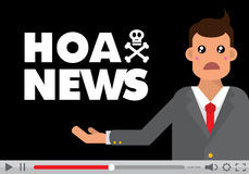 Hoax Royalty Free Stock Images