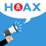 Hoax icon Royalty Free Stock Image