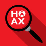 Hoax Stock Image