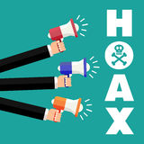 Hoax Stock Photography